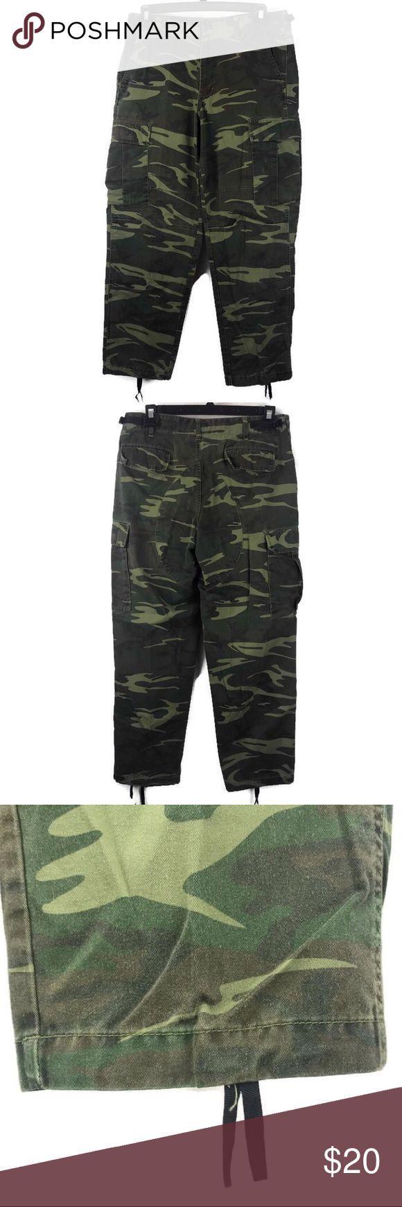 Men's medium REDHEAD army camo cargo pants Camo cargo