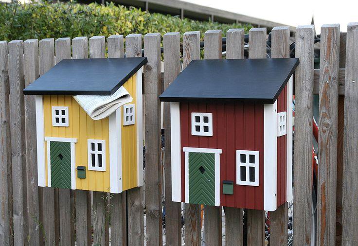 Postkasten Wildlife Garden WG310 schwarz Briefkasten Holz Metall Mailbox