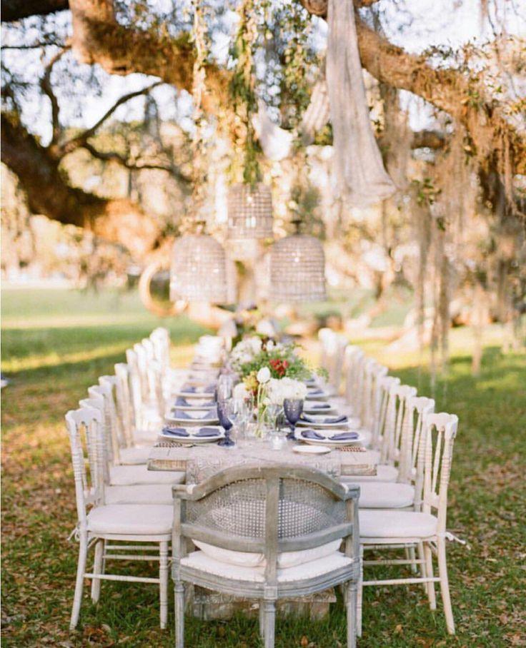Plantation Wedding Designed By Loluma Events