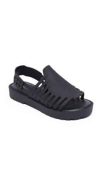 The Allure of Plastic Sandals