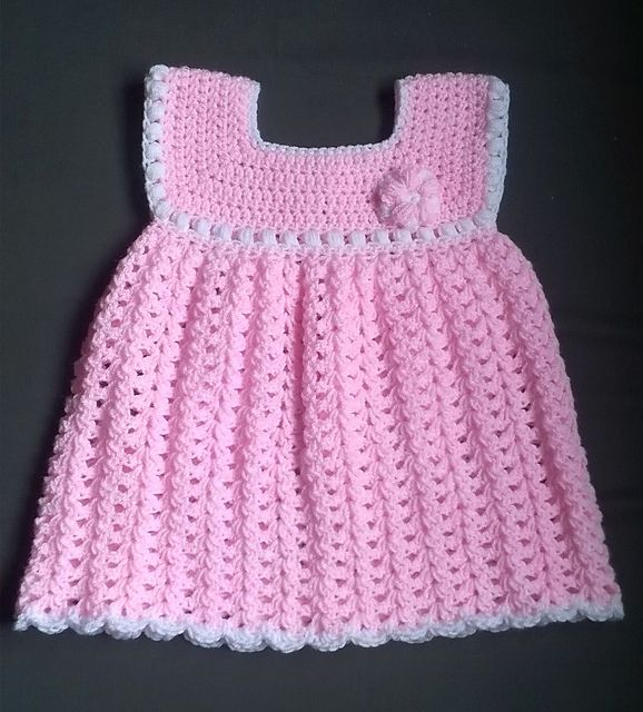 17 Best images about Crochet baby dresses on Pinterest Christening gowns, F...