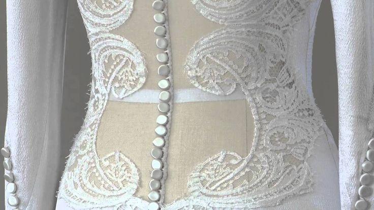 The Twilight Saga: Breaking Dawn: How Bella's Wedding Dress was made