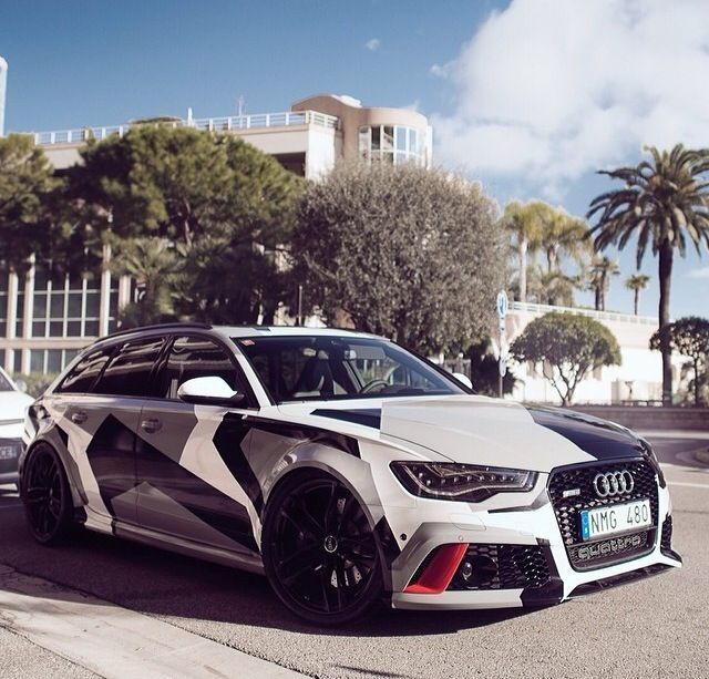 This Ferocious Camo Audi Rs6 Is Skier Jon Olsson S New