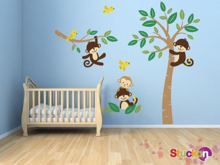 Monkeys - Wall Stickers | stuckon.com.au