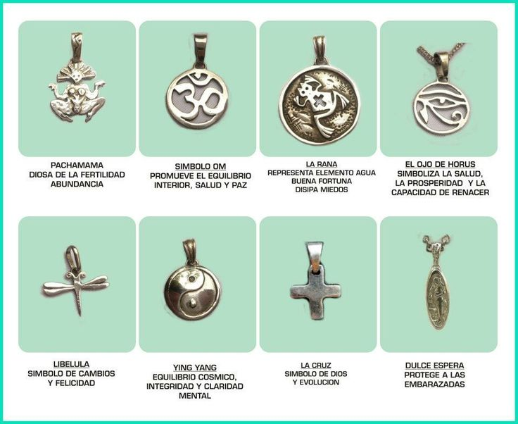 Amuletos Y Significado Lucky Charms Pinterest