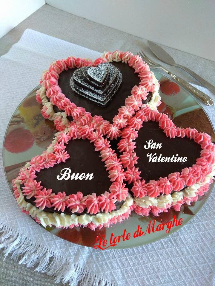 Torta cuore al cioccolato per san valentino. Per festeggiare la festa degli innamorati, ecco un dolce perfetto che vi coccolerà
