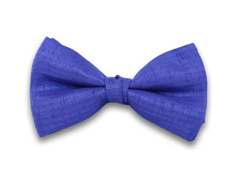Pajarita azul eléctrico para fiesta, noche o boda