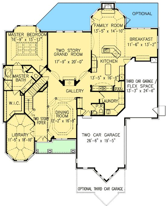 Plan W15762GE: Traditional, European, Photo Gallery, Corner Lot House Plans  U0026 Home