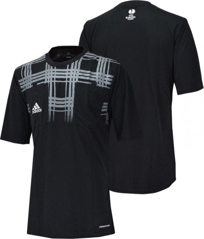 UEFA ヨーロッパリーグ12/15シーズンレフェリーシャツ。 実際に審判が着用していたモデル。