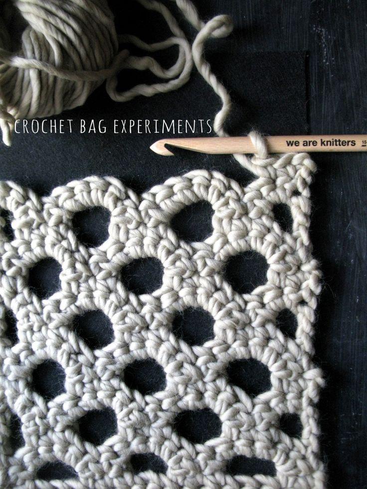 Crochet Bag experiments