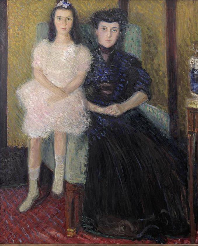 Richard Gerstl, Mutter und Tochter, 1906, Öl auf Leinwand © Wien Museum