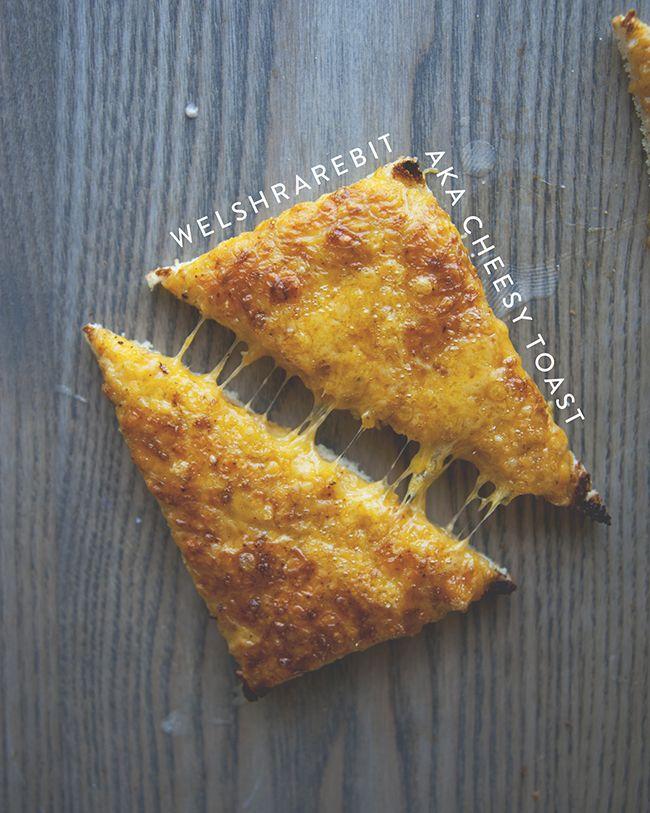 Welsh Rarebit (aka cheesy toast)