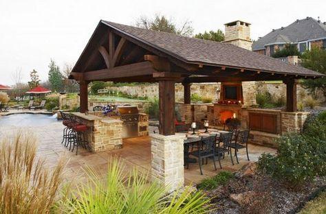 Outdoor Küche Dach : Überdachte outdoor küche zukünftige projekte in 2019