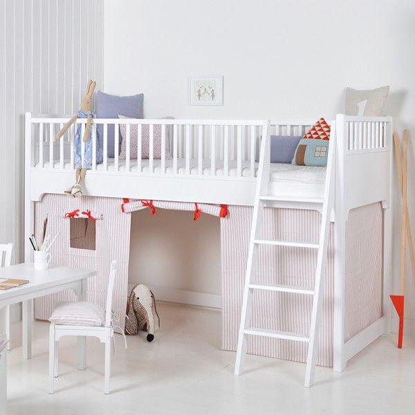 Luxury Oliver Furniture Bett halbhohes Hochbett x cm