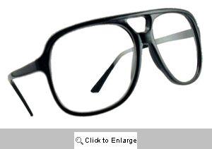 Slide Rule Oversized Reading Aviators Glasses - 568R Black