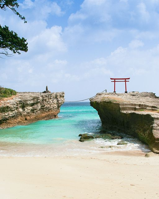 Shirahama Beach in Izu, Japan: photo by ippei + janine