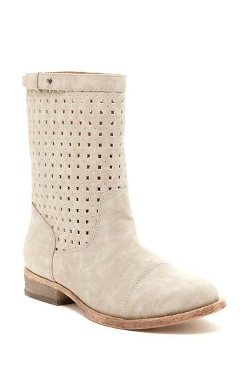 Michael Antonio Mora Cutout Boots in Light Taupe
