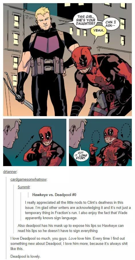 Deadpool is life.
