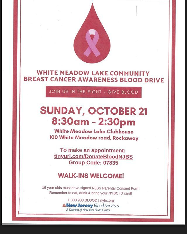 Please Help The Blood Shortage By Donating BloodWhite Meadow Lake Drive