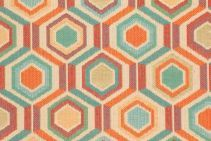 2.1 Yards Geo Tapestry Upholstery Fabric in Multi