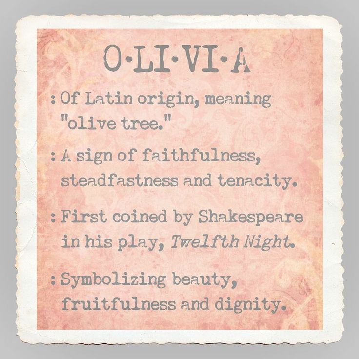 CANVAS Baby Name Olivia By Graffitee Studios 12x12 Art Print Posters #GraffiteeStudios