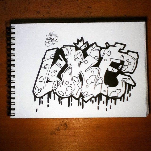 The Name Luke Art Artistic Artsy Graff Graffart Grafflettering