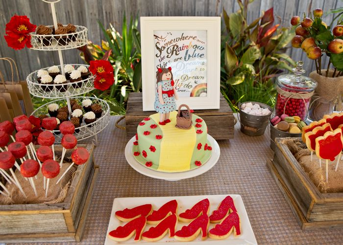 Wizard of Oz Dessert Table