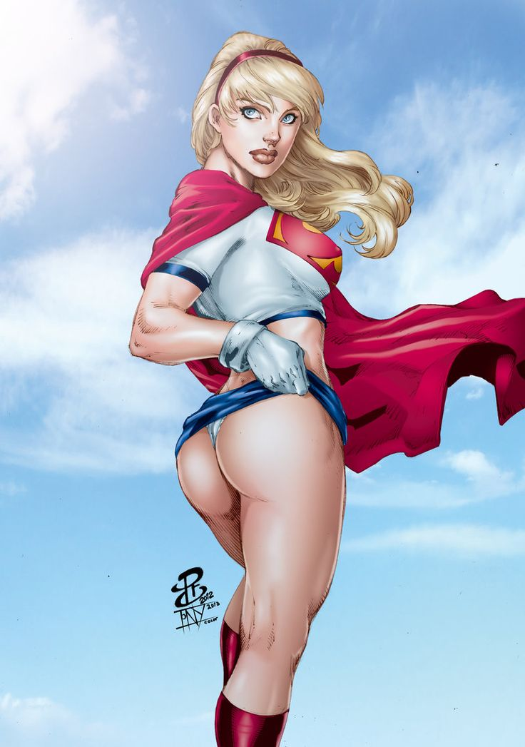 Supergirl In The Sky Z Renato Camilo Z Tony058-6097