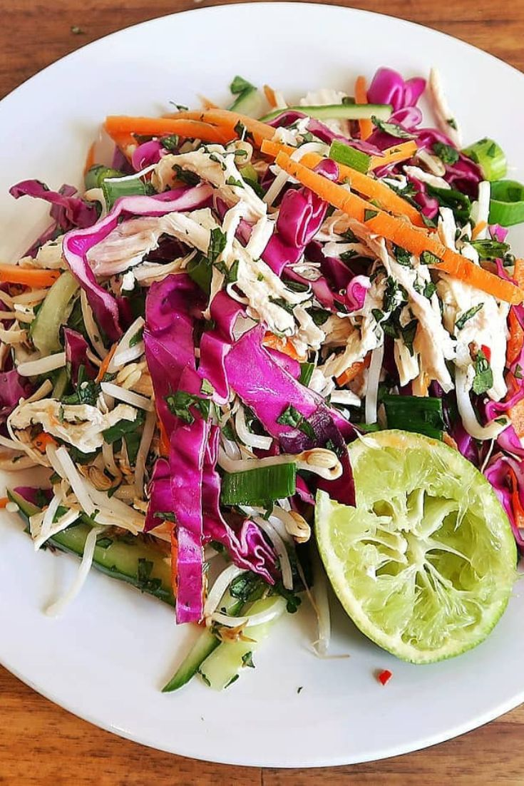 This Vietnamese Chicken Salad Starts Off With A Base Of -3830