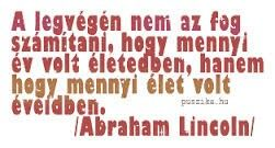 Abraham Lincoln idézet