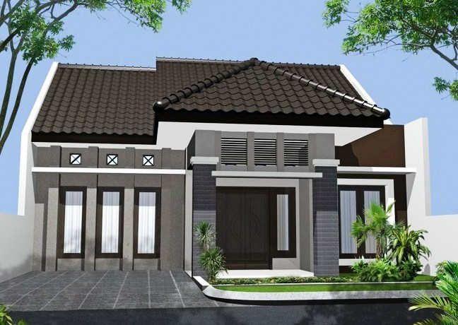 870+ Gambar Model Desain Rumah Minimalis Modern Sederhana 1 Lantai Terbaik Download