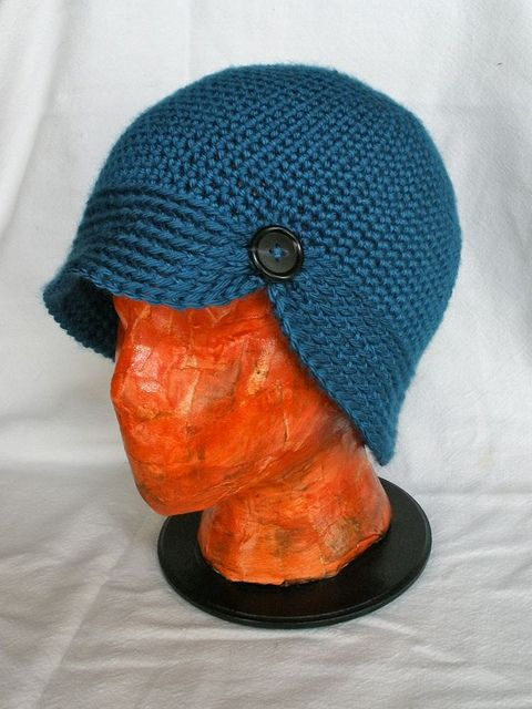 Cute Hat With Free Crochet Pattern. So Cute Maybe No One WIll Notice The Bad Hair Day Underneath!