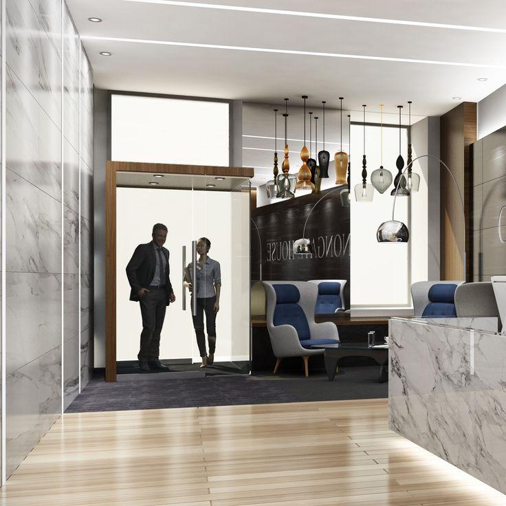 Landlord building reception