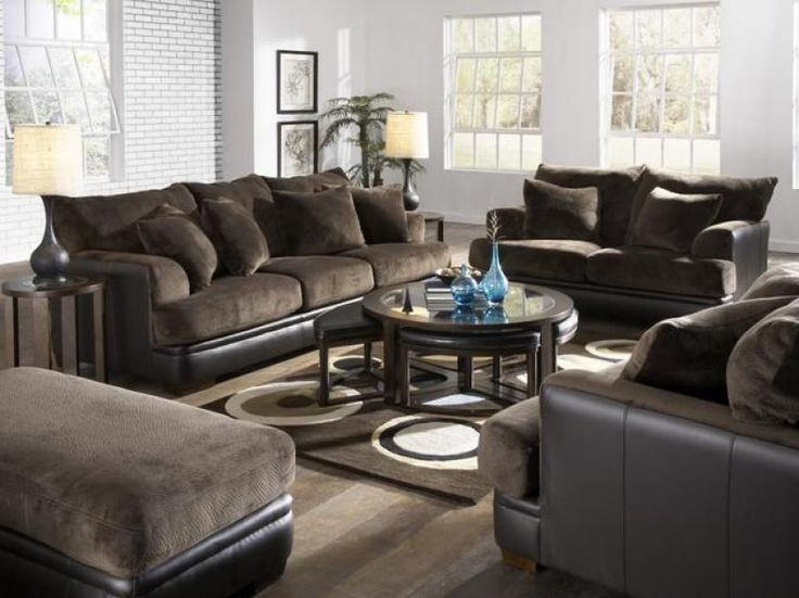 98 best images about living rooms on pinterest for Family sofa sets