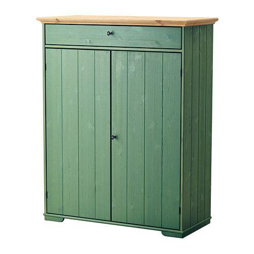 HURDAL Armario p/ropa blanca IKEA Como las baldas son regulables, podrás adaptar el espacio según tus necesidades.