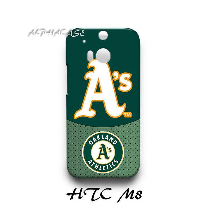 Oakland Athletic HTC M8 Hardshell Case Cover