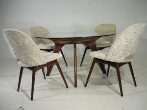 Vintage 50's Danish Modern Adrian Pearsall Craft Associates Dining Set Kagan Era
