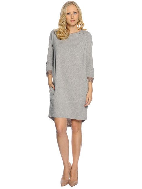 Cottin. Dress, grey/bronze