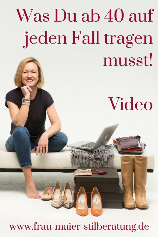 FRAU MAIER tv – Was Du ab 40 auf jeden Fall tragen musst!