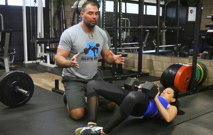 This is one of the best moves for building a strong, rock-solid butt