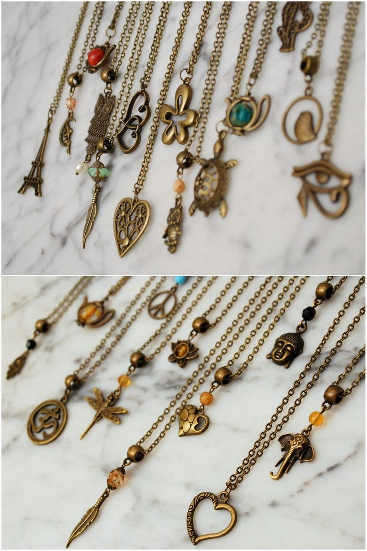 Hippie pendant, Chain necklace, Hamsa hand, Teapot, Owl, Elephant, Feather, Peace, Bird, Heart, Turtle, flower, Butterfly, Buddha, Lotus by Estibela on Etsy https://www.etsy.com/listing/249873900/hippie-pendant-chain-necklace-hamsa-hand
