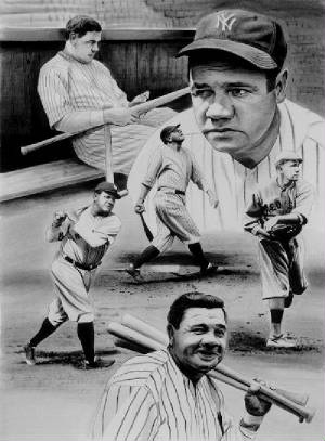 the life and career of george herman George herman babe ruth jr: baseball star and early participant in a cancer  clinical trial steensma dp  publication types: biography historical article.