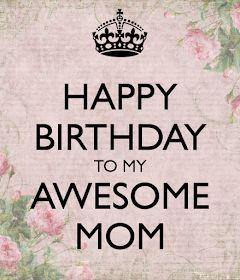 HAPPY 80TH BIRTHDAY TO MY MOM!