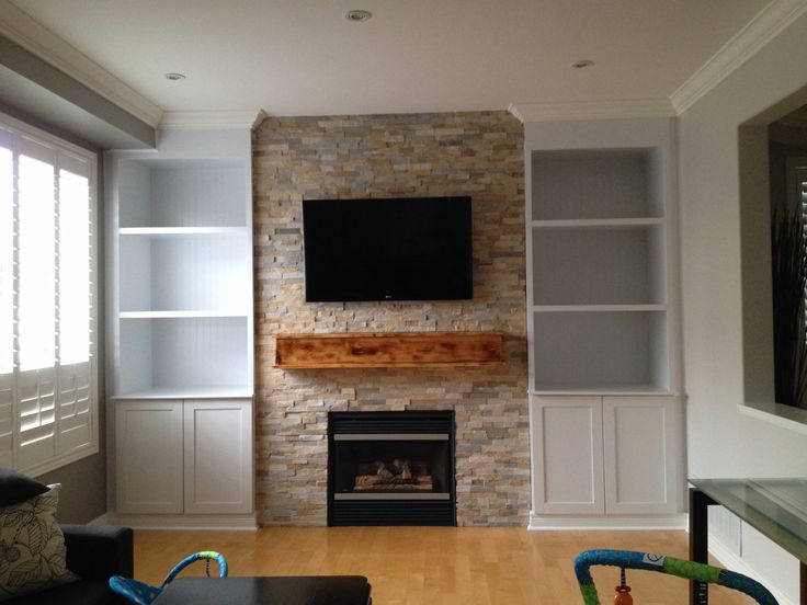 Built in wall unit with fireplace courtesy of www ...