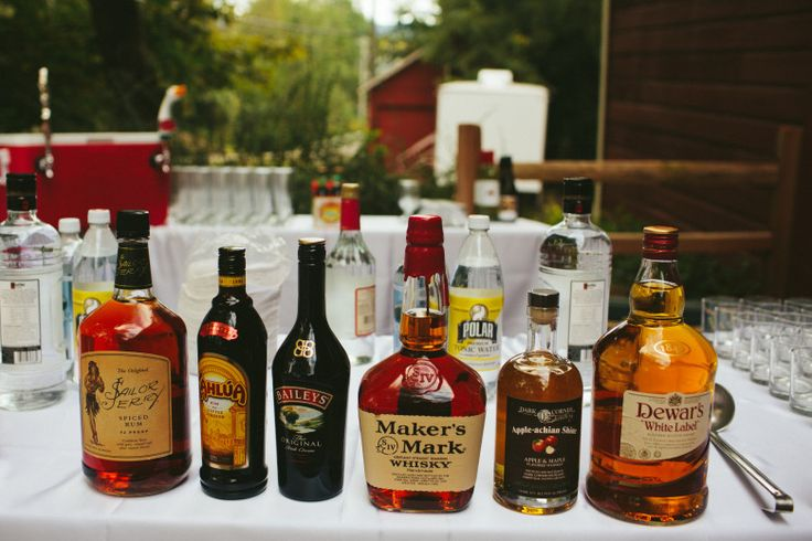 How To Set Up A DIY Bar For Your Wedding