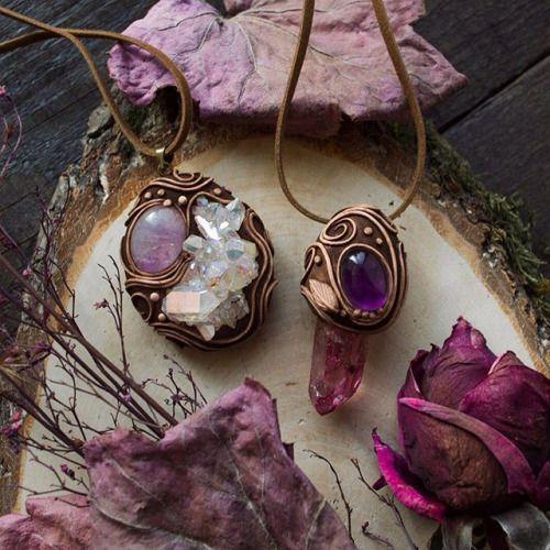 mistylines: New pendants