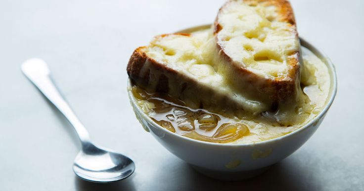 Watch and learn how to make French onion soup using a slow cooker.