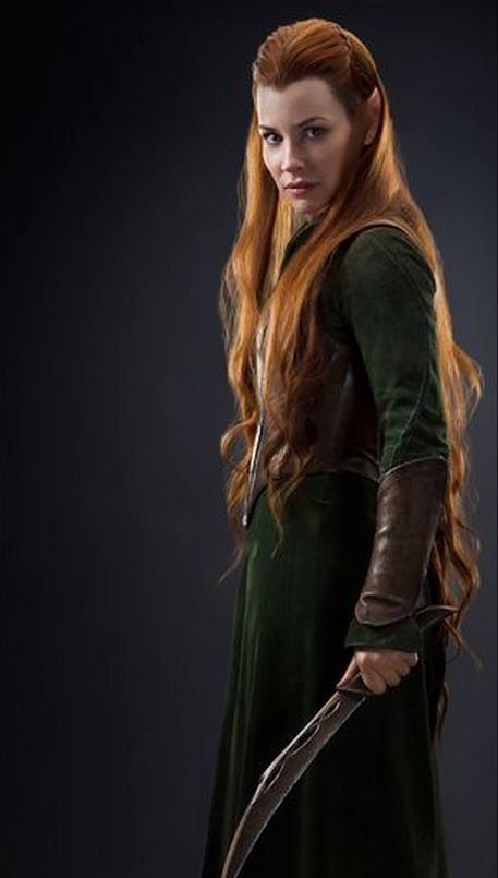Tauriel. I want that outfit, you lovely Gopher character. (For the uninformed, Gopher=not-in-the-book. Thanks, Winnie-the-Pooh.)
