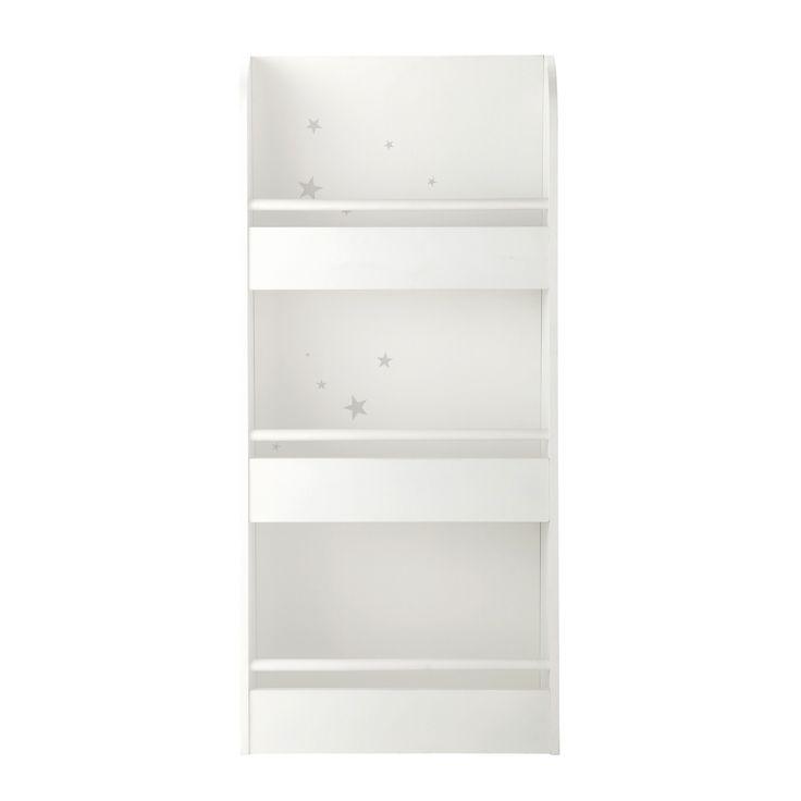Bibliothèque enfant en bois blanche L 55 cm Songe