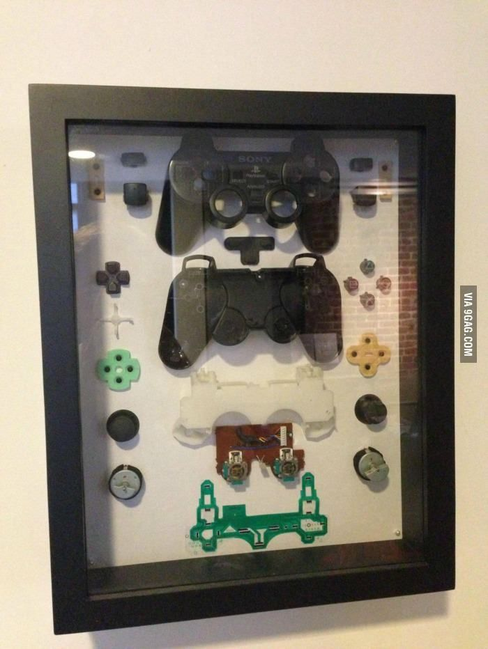 This is actually pretty cool....What can you do with a broken PS2 controller